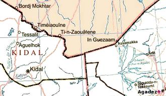Tuareg rebellion (1990–1995) - The Mali - Niger - Algeria border region.