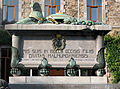 Malmedy - Monument aux morts des 2 guerres mondiales.JPG