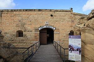 Fort Rinella - Image: Malta Kalkara Fort Rinella 10 ies