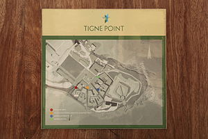 Tigné Point - Map of Tigné Point