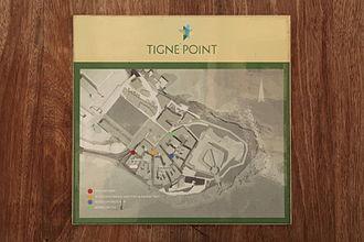 Tigné Point - Map of Tigné Point