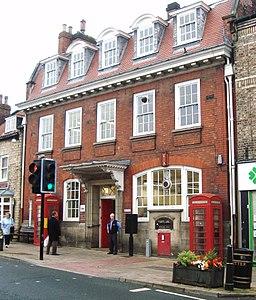 Malton, North Yorkshire ... YO17 1002 delivery office. (5047174535)