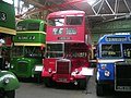 Manchester Transport Museum buses TRJ 112 and TNA 496 and CWG 206.jpg