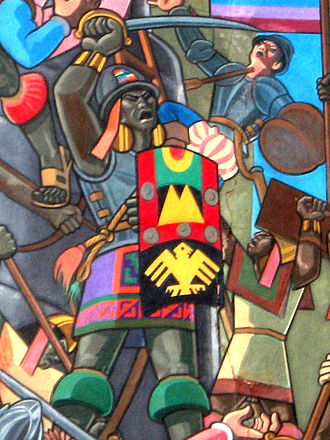 Inca army - Manco Inca using Spanish weapons.