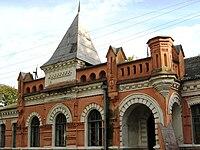 Manevychi railway station.jpg