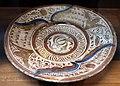 Manises (valencia) o siviglia, piatto, xvi secolo.JPG