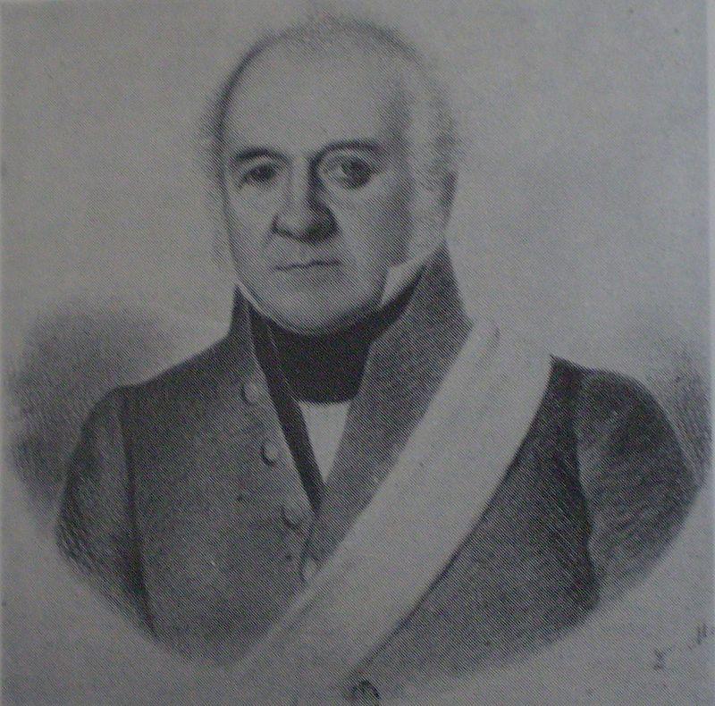 Retrato de Manuel Vicente Maza.