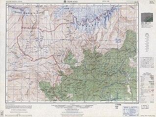 Map India and Pakistan 1-250,000 Tile NG 46-2 Towang.jpg