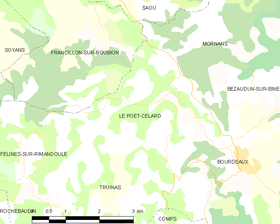 Map commune FR insee code 26241.png