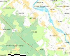 Map commune FR insee code 33552.png