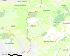 Map commune FR insee code 65018.png