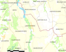 Map commune FR insee code 65240.png