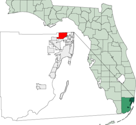 Map of Florida highlighting Miami Gardens.png