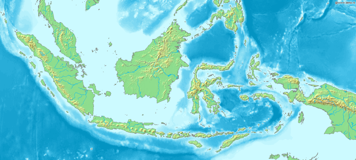 a geography of indonesia The indonesian archipelago consists of three main regions one of the regions consists of sumatra, java, kalimantan, and the islands that lie between them.