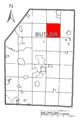 Map of Washington Township, Butler County, Pennsylvania Highlighted.png