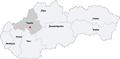 Map slovakia banovce nad bebravou.png