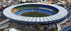 El Estadio Maracaná, sede de la final.