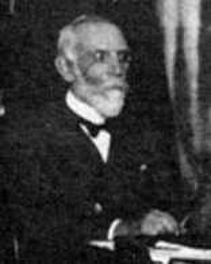 Marcel Brillouin - Marcel Brillouin at the first Solvay Conference, in 1911