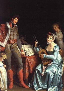 Marguerite Gérard - La Duchesse Abrantes et le General Junot