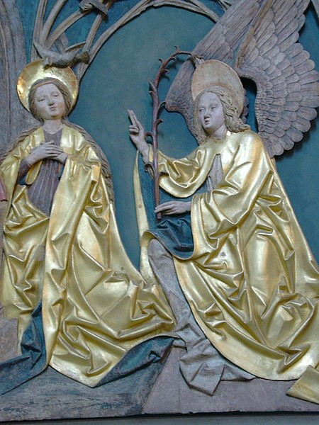 File:Mariä Verkündigung - Schreinflügel - Bozen-Gries (Alte Pfarrkirche).jpg