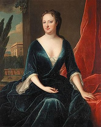 Maria Verelst - Portrait of a Lady