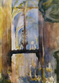 Marian Ruzamski - Wnętrze kościoła Mariackiego.png