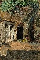 Mariano Fortuny y Carb^oacute, - Gypsy Caves, Granada - 2016.22.5 - Corcoran Gallery of Art.jpg