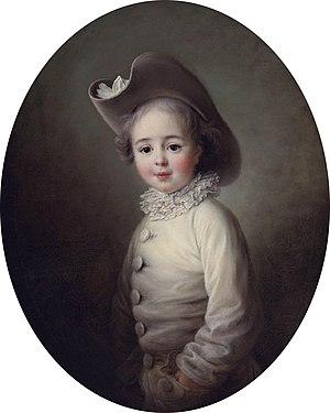 Marie-Jean Hérault de Séchelles - Marie-Jean Hérault de Séchelles at age 4 (François-Hubert Drouais)