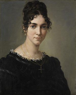 Marie Ellenrieder - Marie Ellenrieder (self portrait c.1810)