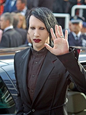Porcelain Black - Image: Marilyn Manson Cannes