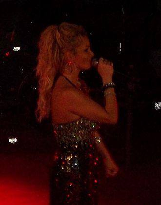 Marisela - Marisela at a concert, May 2012
