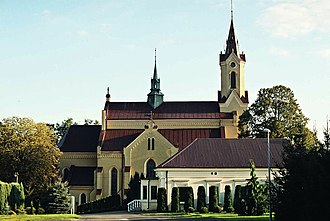 Markowa - Church of Saint Dorota in Markowa
