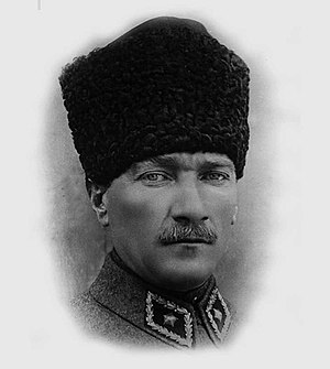 1924 in Turkey - Image: Marshal Mustafa Kemal Pasha