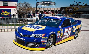 Martin Truex Jr. - Truex's 2013 Sprint Cup car at Texas Motor Speedway