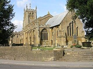 Martock village and civil parish in Somerset, England