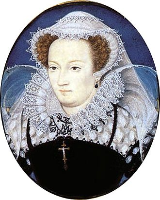 Mary in captivity, by Nicholas Hilliard, c. 1578 Mary Queen of Scots by Nicholas Hilliard 1578.jpg