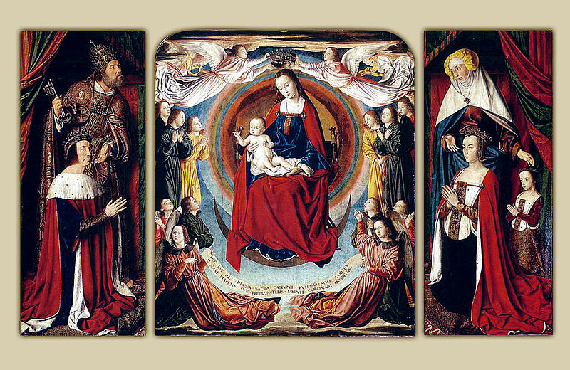 Archivo:Master of Moulins - The Moulins Triptych - WGA14450.jpg