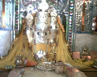 Shajapur - Image: Mata Baglamukhi Temple