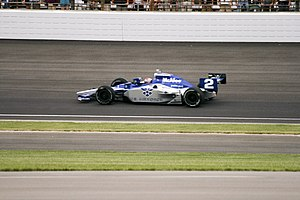 Raphael Matos - Matos driving in the 2009 Indianapolis 500