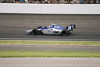 Raphael Matos - Matos driving in the 2009 Indianapolis 500