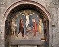 Matteo giovannetti (attr.), crocifissione e santi, 1340, 01.jpg