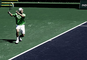 Matthew Ebden - Ebden at Indian Wells.