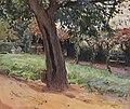 Max Slevogt Kastanie im Vorhof von Neukastel 1903.jpg