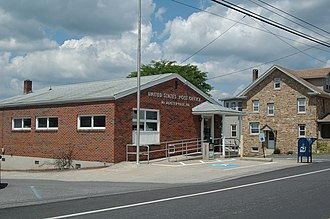 Fayette Township, Juniata County, Pennsylvania - The post office in McAlisterville