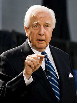 David McCullough speaking at Emory University, on April 25, 2007
