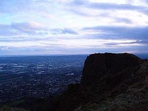 Cavehill - McArts fort overlooking Belfast