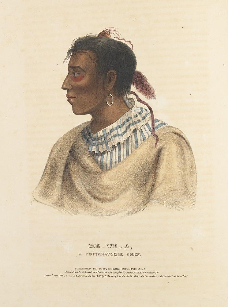 Me-Te-A, A Pottawatomie Chief. (15247213874)