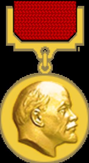 Konstantin Chernenko - Image: Medal Lenin Prize