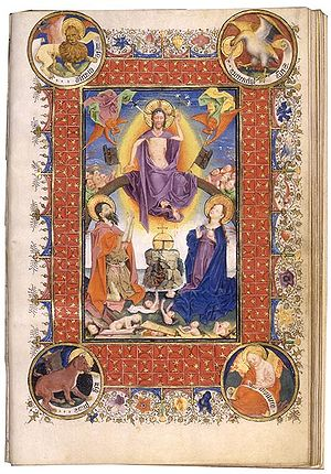 Hours of Catherine of Cleves - Another page