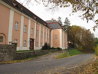 Melč - Former Melč palace, actual reformatory (2016)